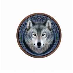 Anne Stokes 3D Coin Purse Lunar Wolf