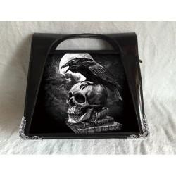 Alchemy Gothic 3D Handbag Poe's Raven