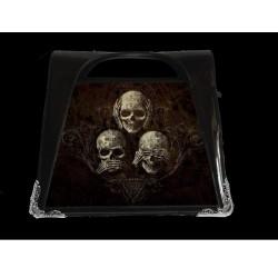 Alchemy Gothic 3D Handbag Skulls See No Evil
