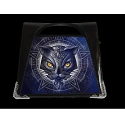 Alchemy Gothic 3D Handbag Cat Star Of Allourus