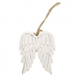 Angel Wings Hanging Decoration Wooden