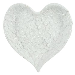 Angel Wings Heart Trinket Dish