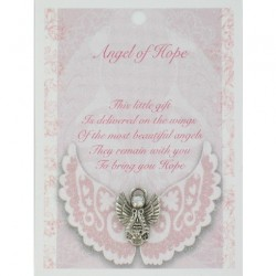 Angel Pin & Sentiment Card Angel Of Hope