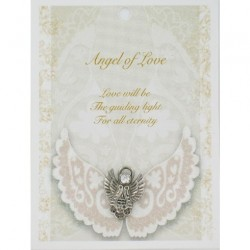 Angel Pin & Sentiment Card Angel Of Love