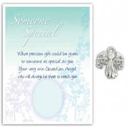 Angel Pin & Sentiment Card Someone Special
