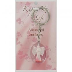 Angel Keyring Keeping You Safe