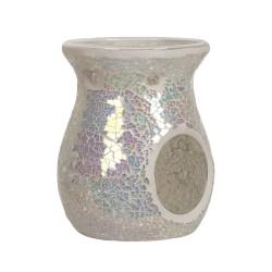 Oil Burner Pearl Crackle Mosaic