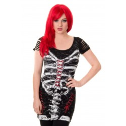 Banned Corset Skeleton Top OBN121