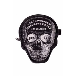 Banned Coin Purse Ouija Skull
