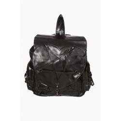Banned Backpack Pentagram Heart