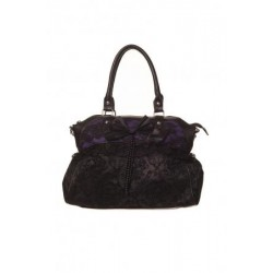 Banned Black Lace Hand Bag