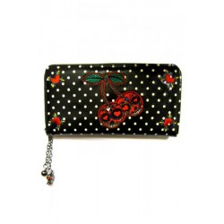 Banned Cherry Skulls Purse