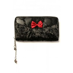Banned Black Ivy Lace Purse
