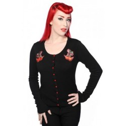 Banned Cherries Cardigan