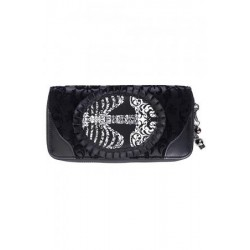Banned Skeleton Cameo Purse