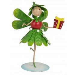 Christmas Fairy Garden Metal Accessories Mini Mia Mistletoe Fairy