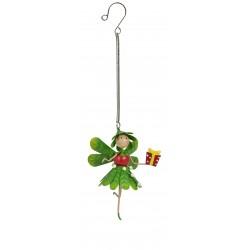 Christmas Fairy Garden Metal Accessories Springer Mia Mistletoe Fairy
