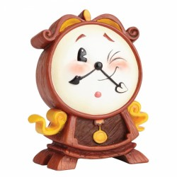 Disney Miss Mindy Beauty & The Beast Cogsworth Figurine