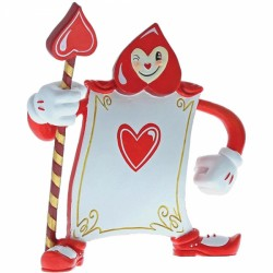 Disney Miss Mindy Alice In Wonderland Ace Of Hearts Card Guard Figurine