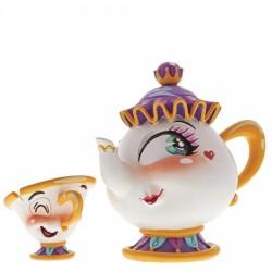 Disney Miss Mindy Beauty & The Beast Mrs Potts & Chip