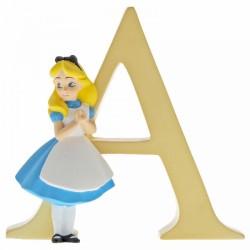 Disney Alphabet Letter 'A' Alice