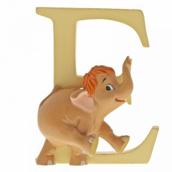 Disney Alphabet Letter 'E' Baby Elephant