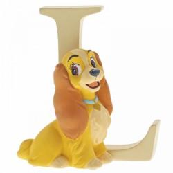 Disney Alphabet Letter 'L' Lady