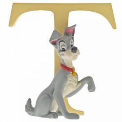 Disney Alphabet Letter 'T' Tramp