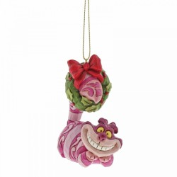 Disney Traditions Alice In Wonderland Hanging Ornament Cheshire Cat