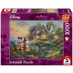 Disney Puzzle Mickey & Minnie