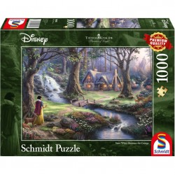 Disney Puzzle Snow White Cottage
