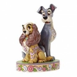 Disney Traditions Lady & The Tramp Opposites Attract