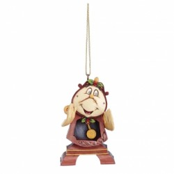 Disney Traditions Beauty & The Beast Hanging Ornament-Cogsworth