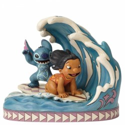 Disney Traditions Lilo & Stitch Catch The Wave