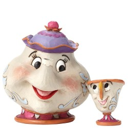 Disney Traditions Beauty & The Beast Mrs Potts & Chip A Mothers Love