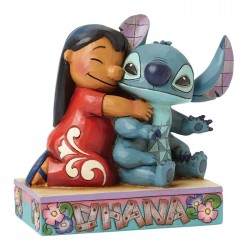 Disney Traditions Lilo & Stitch Ohana Means Family