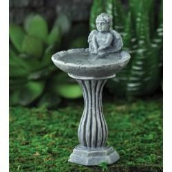 Fairy Garden Accessories Angel Birdbath
