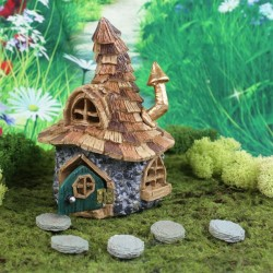 Fairy Garden House Shingletown Troll