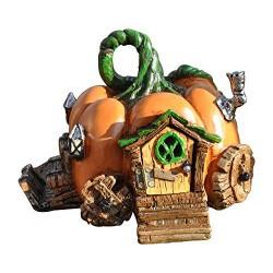 Fairy Garden House Pumpkin Carriage