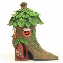 Fairy Garden House Boot Cottage