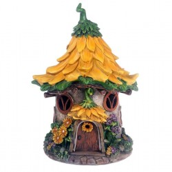 Fairy Garden House Sunflower Cottage