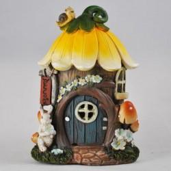 Fairy Garden House Small Flower