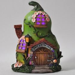 Fairy Garden House Small Pear