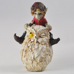 Pixie On Owl