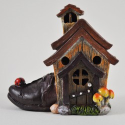 Fairy Garden House Small Shoe Cottage