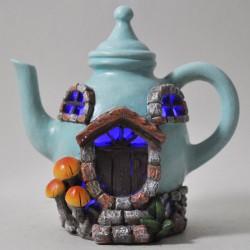 Fairy Garden House Small Teapot Cottage