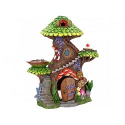 Fairy Garden House Tree Top Spa