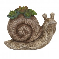 Solar Garden Ornament Snail