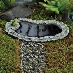 Fairy Garden Accessories Frog Pond