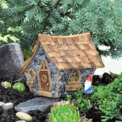 Fairy Garden Micro Mini Crooked Cottage